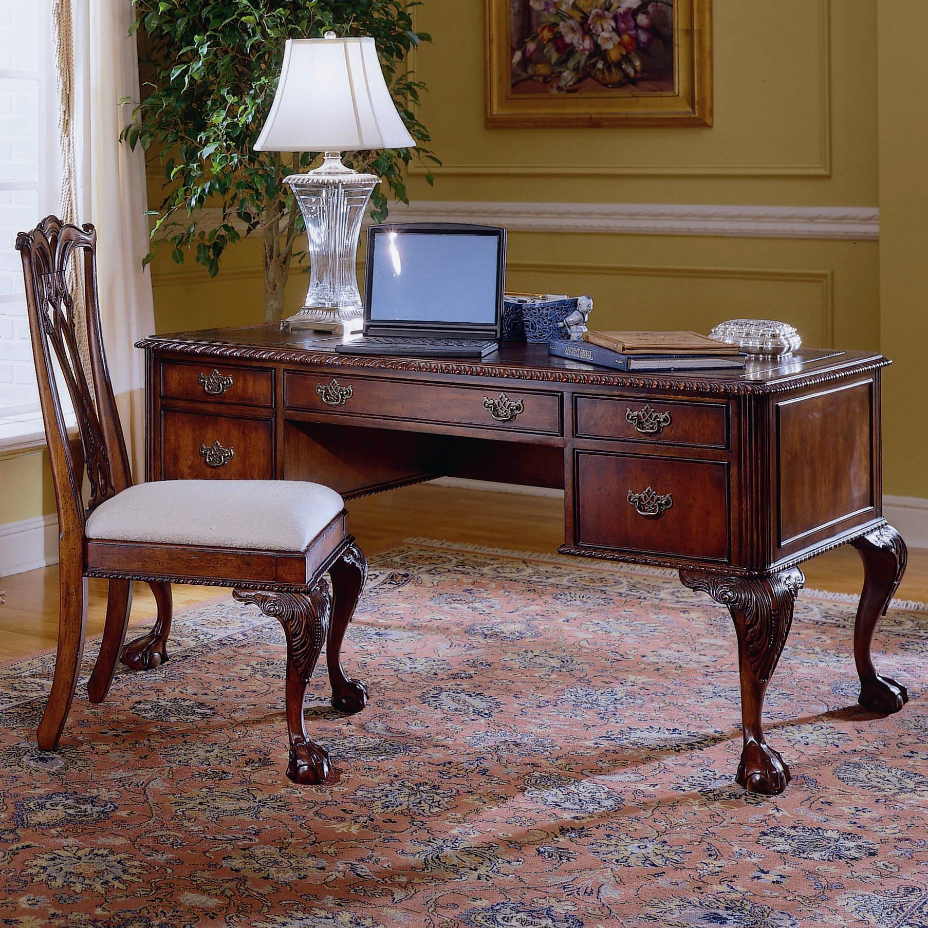 Hooker Furniture 434 Ball Claw Writing Desk  - Item Number: 434-10-158