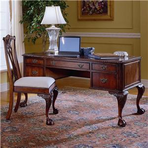 Hooker Furniture 434 Ball Claw Writing Desk