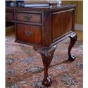 Hooker Furniture 434 Ball and Claw Writing Desk - Ornate Cabriole Leg Detailing