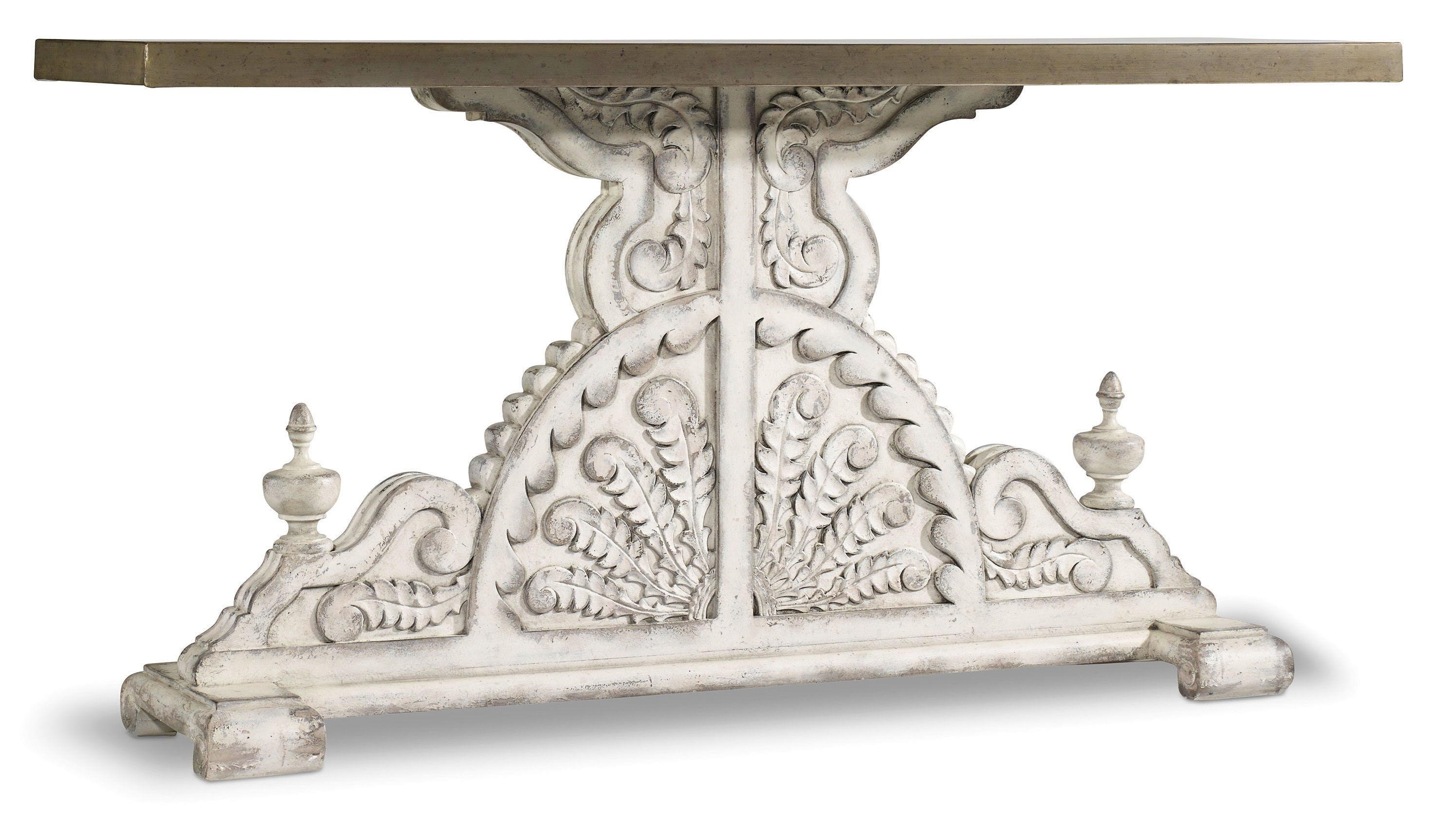 Hooker Furniture Sanctuary Console Table - Item Number: 5507-85001-WH