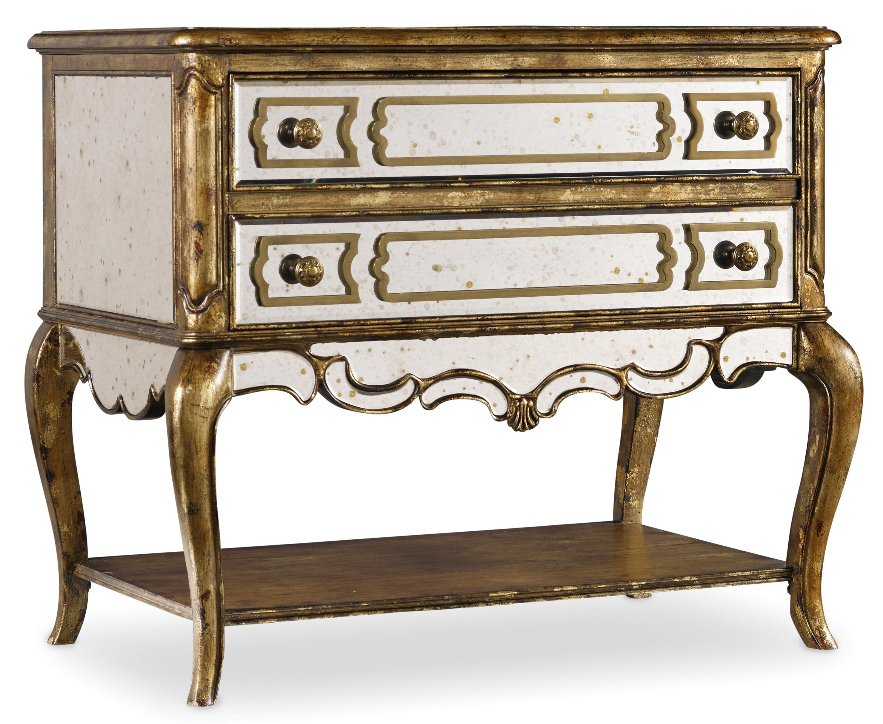 Hooker Furniture 5199 Mirrored File Chest - Item Number: 5199-10485