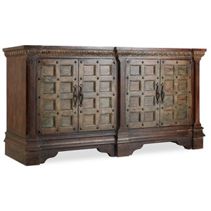 Hooker Furniture 5516 Jodhpur Door Console