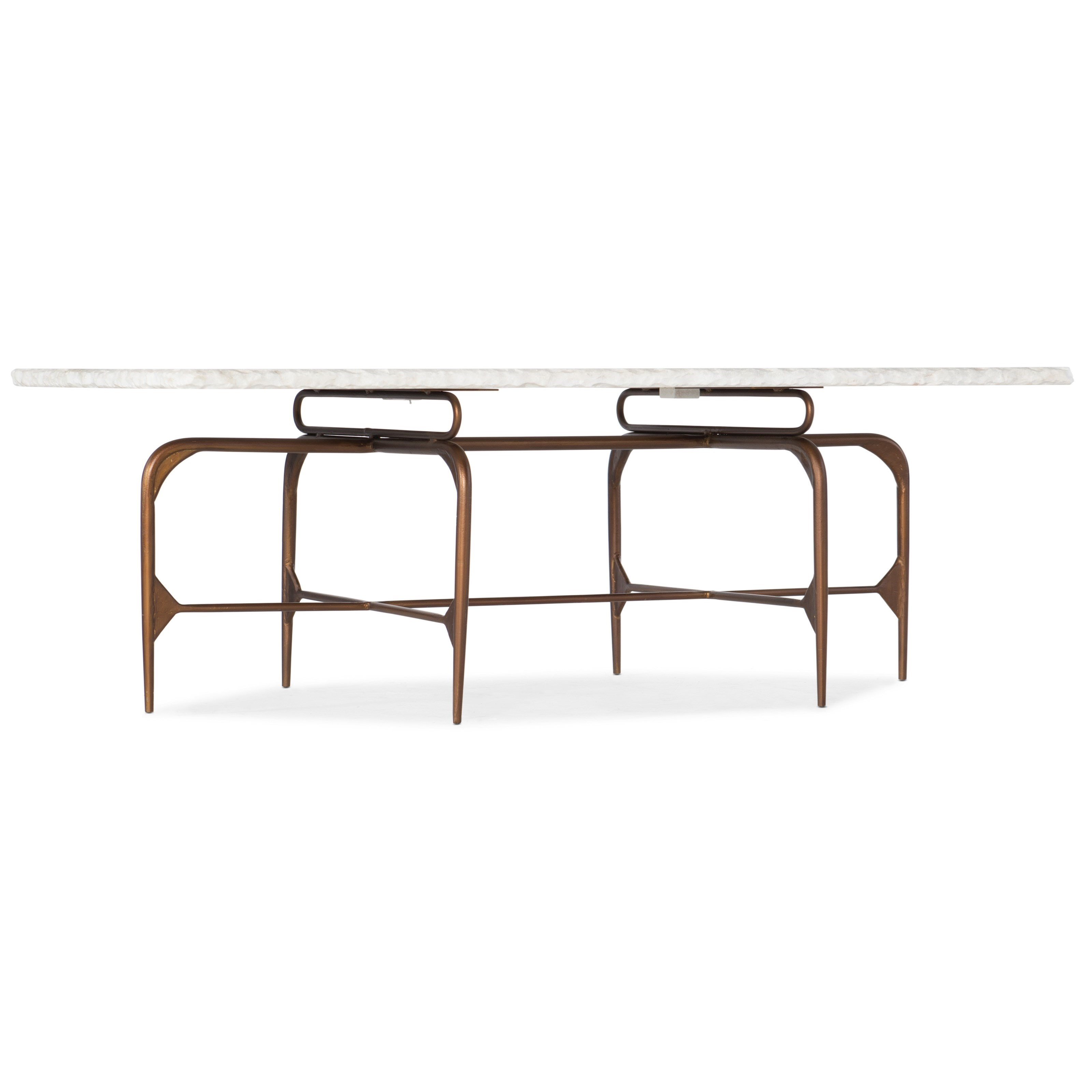 Hooker Furniture 5633-80 Skinny Rectangle Cocktail Table - Item Number: 5633-80110-WH