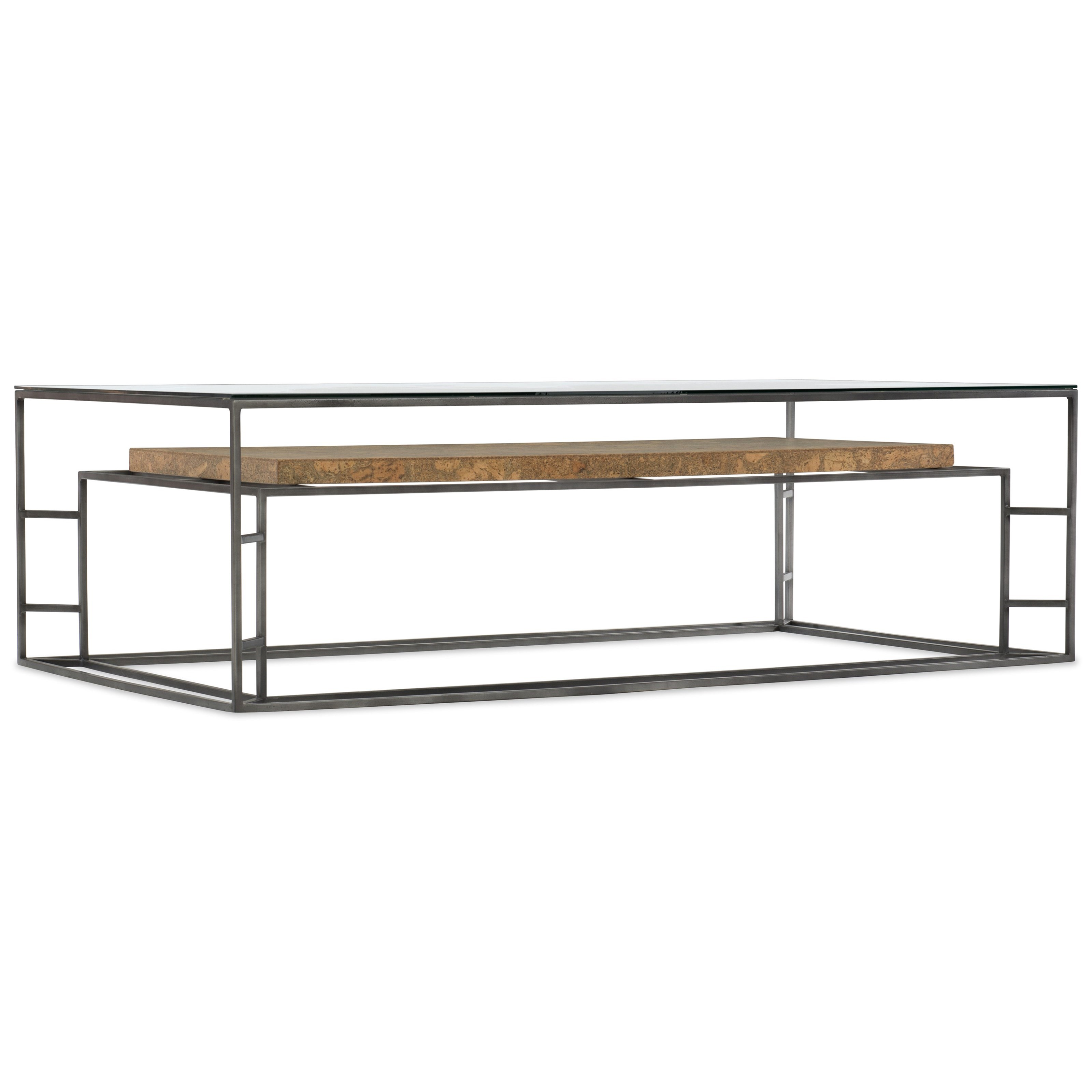 5645-80 Rectangle Cocktail Table by Hooker Furniture at Esprit Decor Home Furnishings