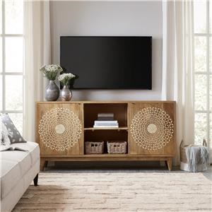 "Hooker Furniture 5651-55 Point Reyes 69"" Console"