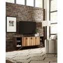 Hooker Furniture 5687-55 Shogun 78in Entertainment Console with Mango Wood and Metal Legs
