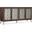 Hooker Furniture 5808 Mixed Metals Entertainment Console - Item Number: 5808-55473-89