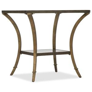 Hooker Furniture 6080-80 Rectangular End Table