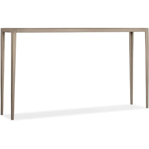 White Venetian Marble Console Table