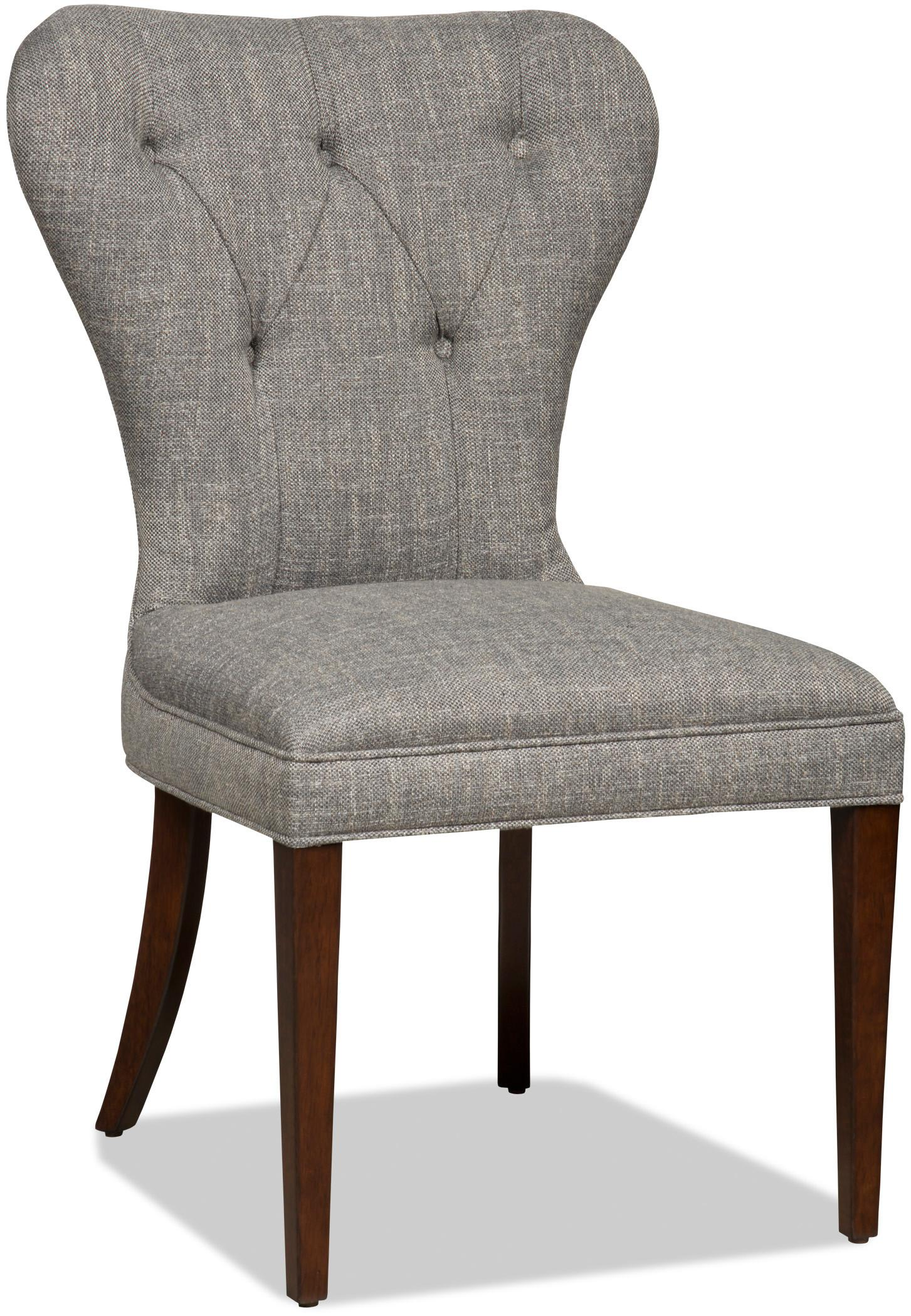 Dining Chairs Upholstered Dining Chair With Button Tufting By Hooker  Furniture