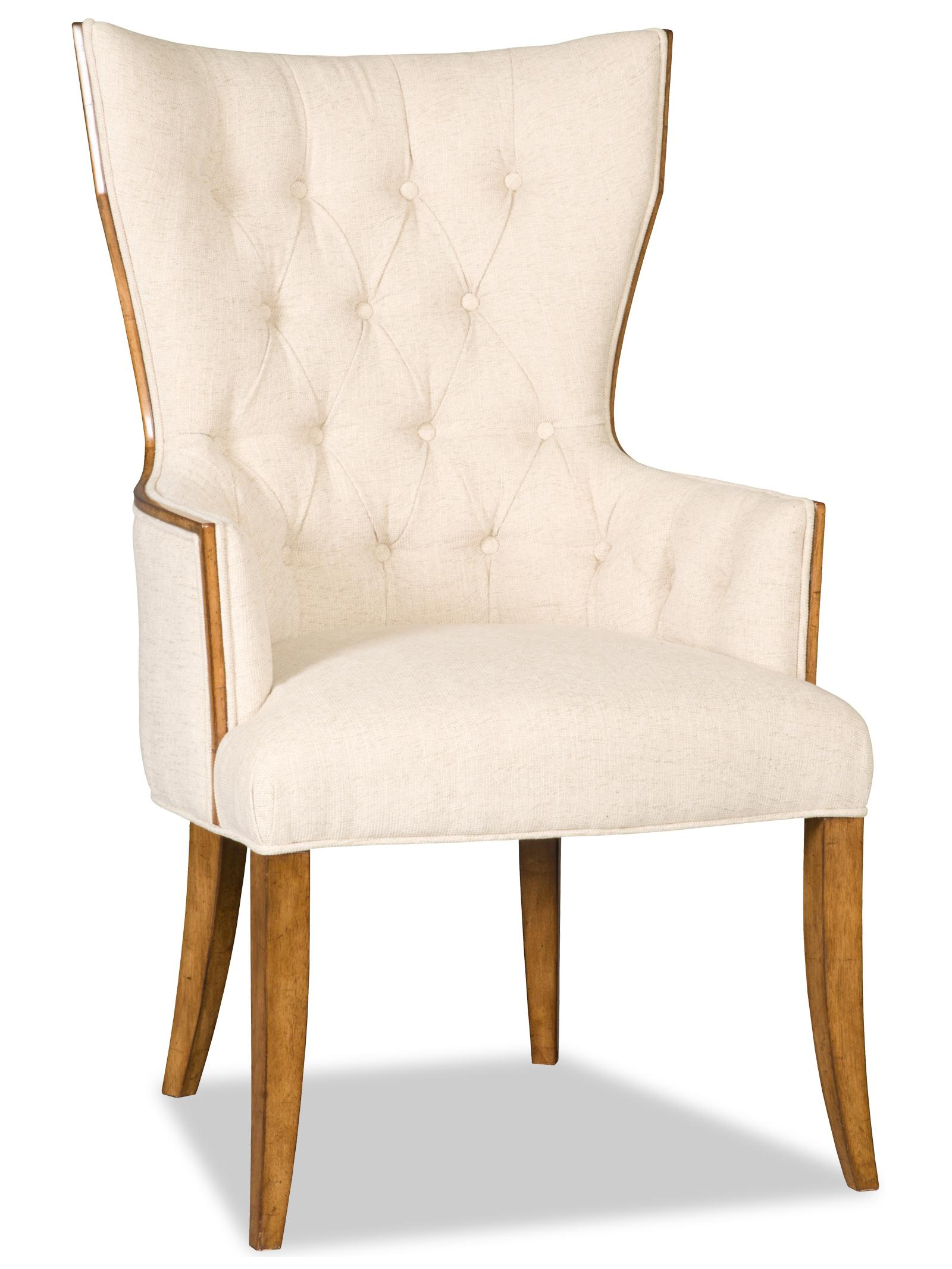 Hooker Furniture Dining Chairs Victoria Dining Arm Chair - Item Number: 300-350050