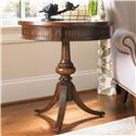 Hooker Furniture Living Room Accents Round Pedestal Accent Table - Item Number: 500-50-828