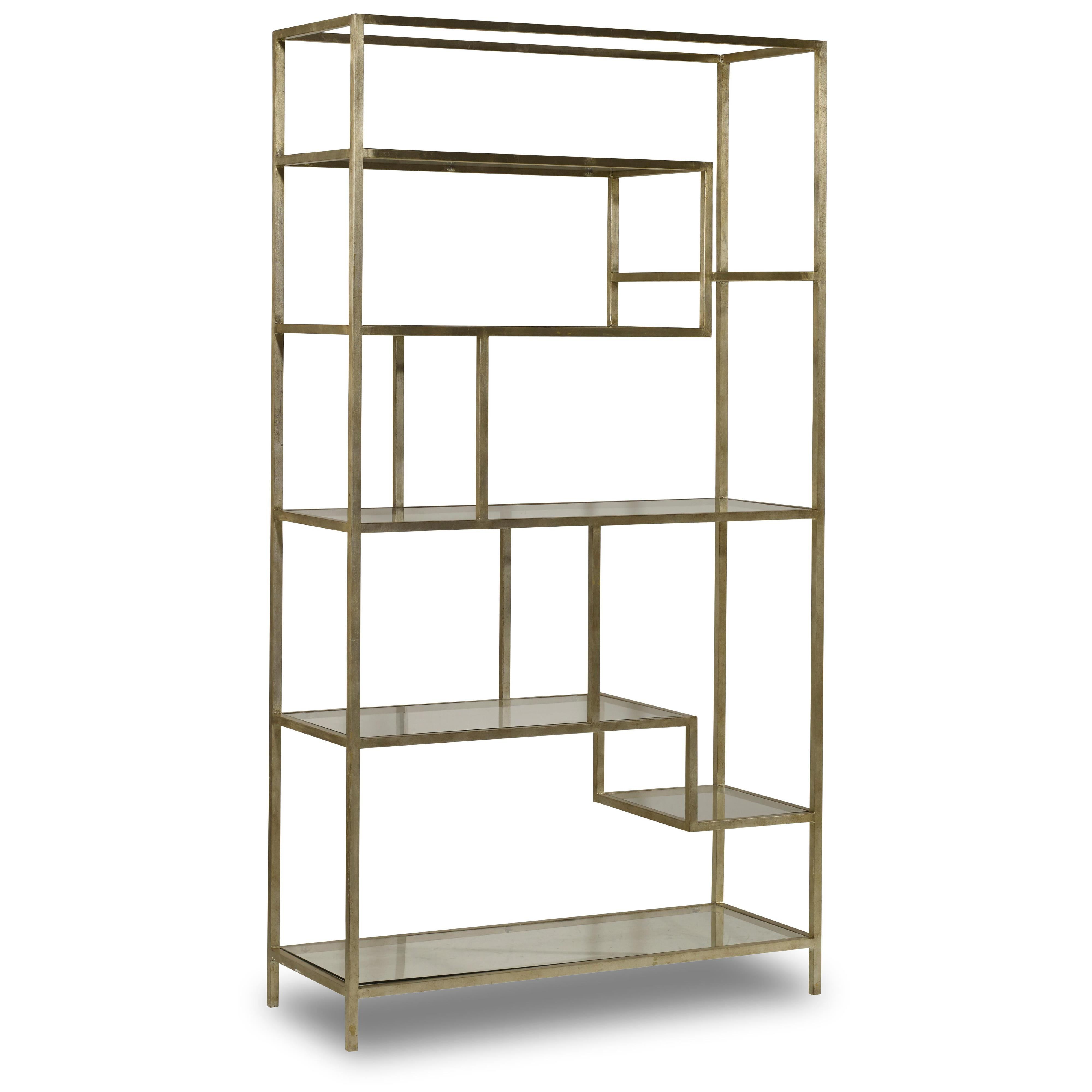 Living Room Accents Etagere by Hooker Furniture at Gill Brothers Furniture
