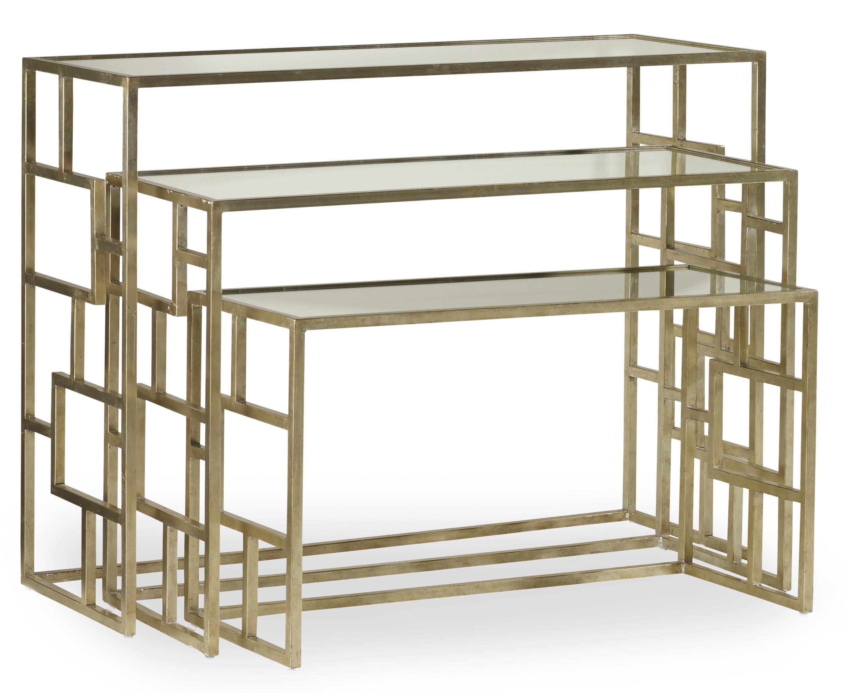 Hooker Furniture Living Room Accents Metal Nest of Tables - Item Number: 500-50-939