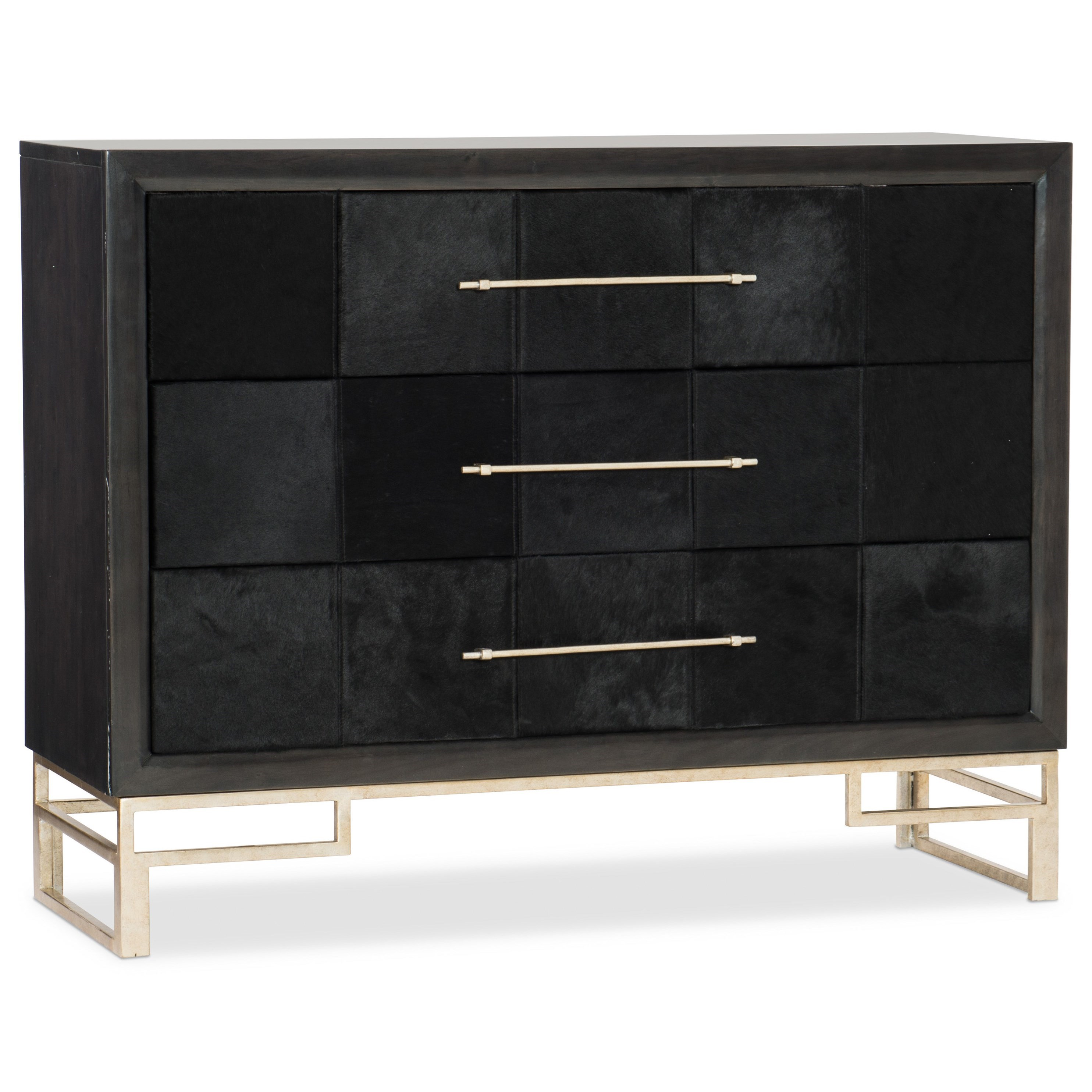Hair on Hide Accent Chest