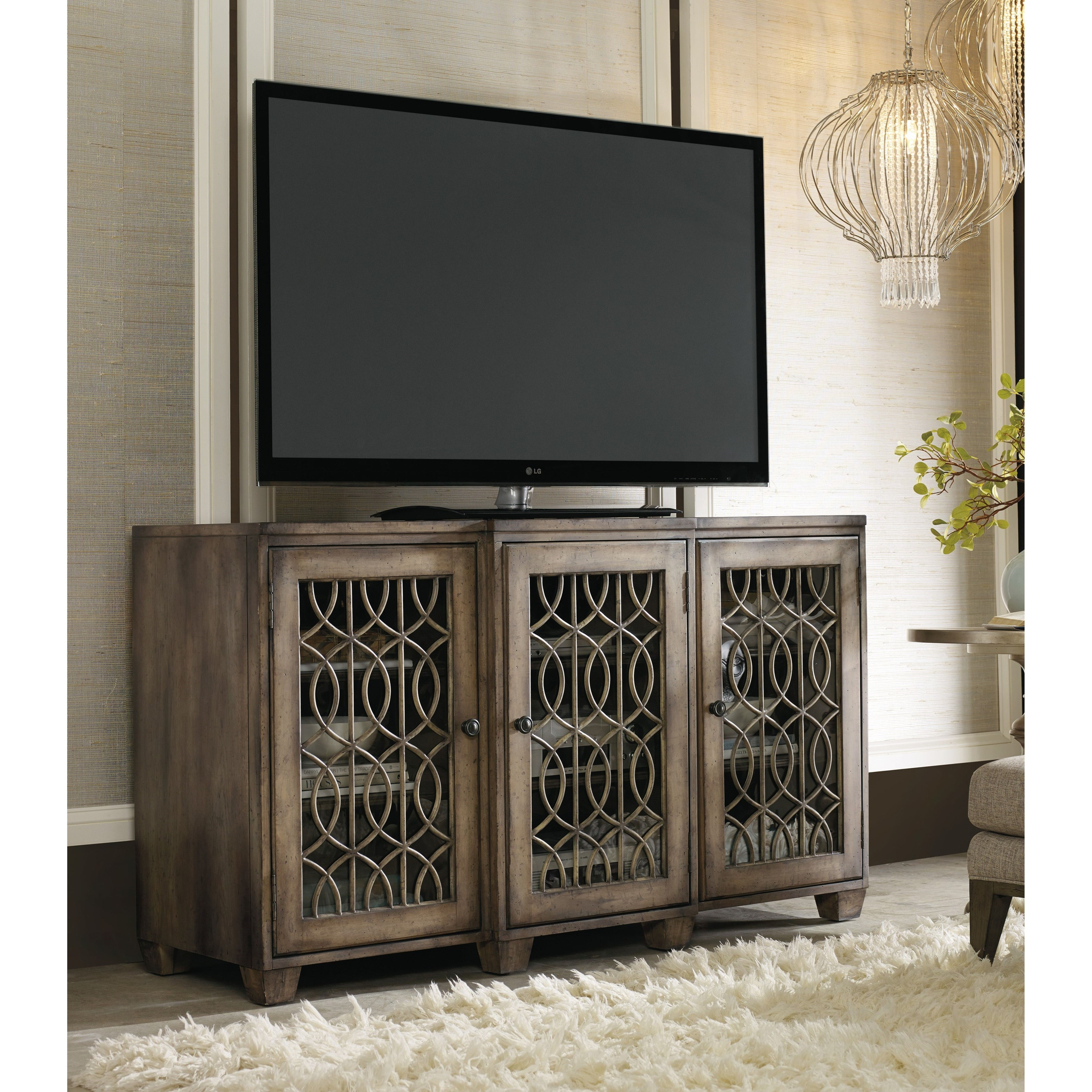 Ignore 64in. Entertainment Console by Hooker Furniture at Stoney Creek Furniture