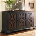 Hooker Furniture Living Room Accents Two Tone Credenza - Item Number: 5103-85001