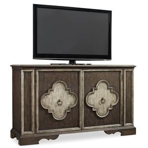 Hamilton Home Living Room Accents 2 Door Console