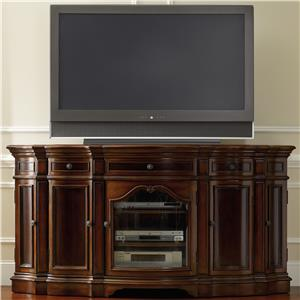 "Hooker Furniture Living Room Accents Entertainment 74"" Console"