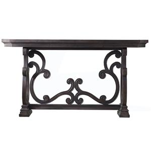 Hamilton Home Living Room Accents Da Valle Scroll Console