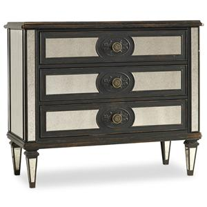 Hooker Furniture Living Room Accents Mirror Accented Chest