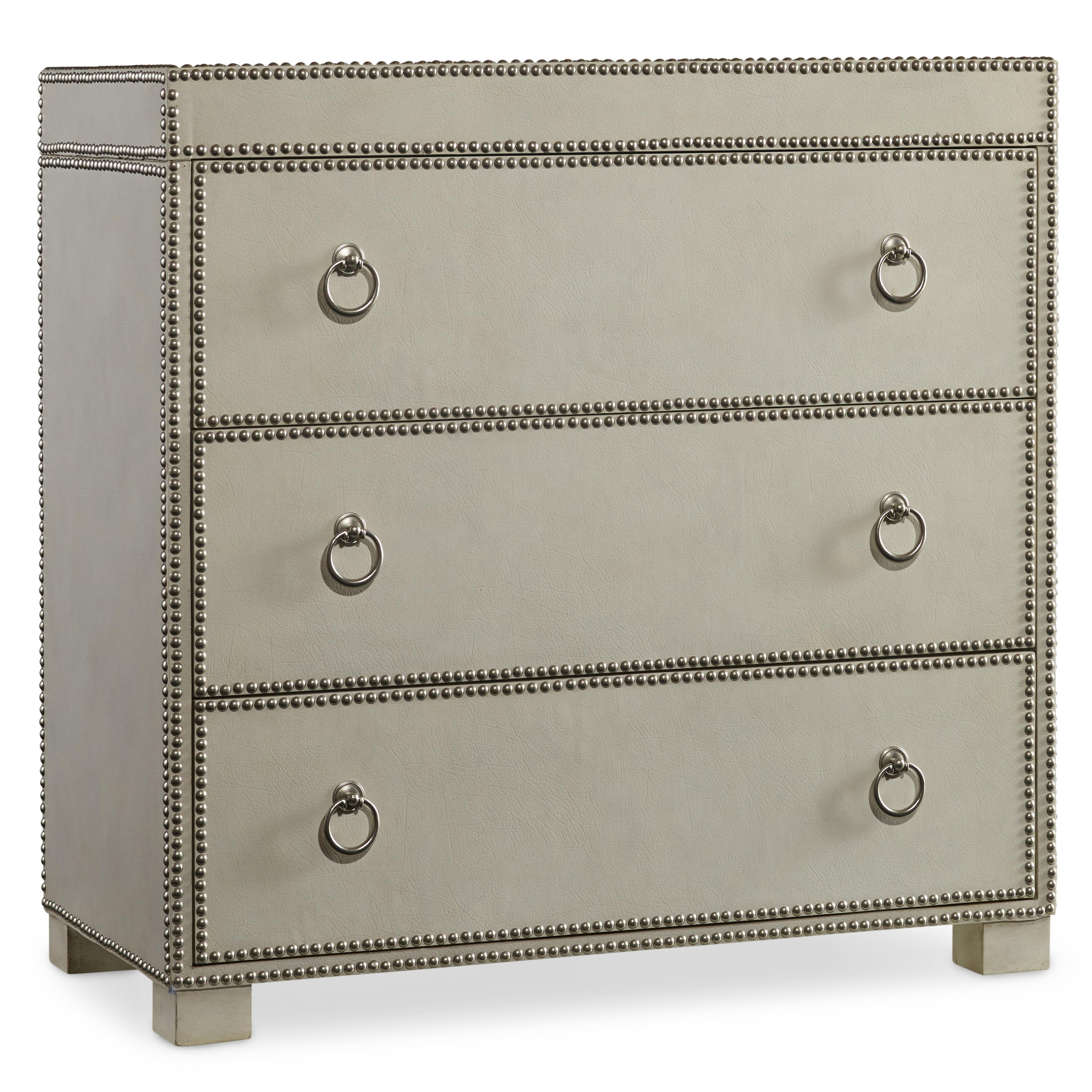 Hamilton Home Living Room Accents 3 Drawer Chest - Item Number: 5230-85001