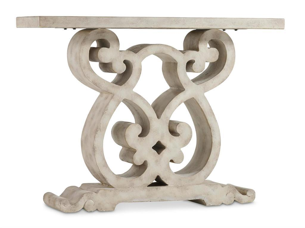 Hooker Furniture Living Room Accents Scroll Console Table - Item Number: 5312-85001