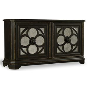 Hamilton Home Living Room Accents Large Quatrefoil Chest
