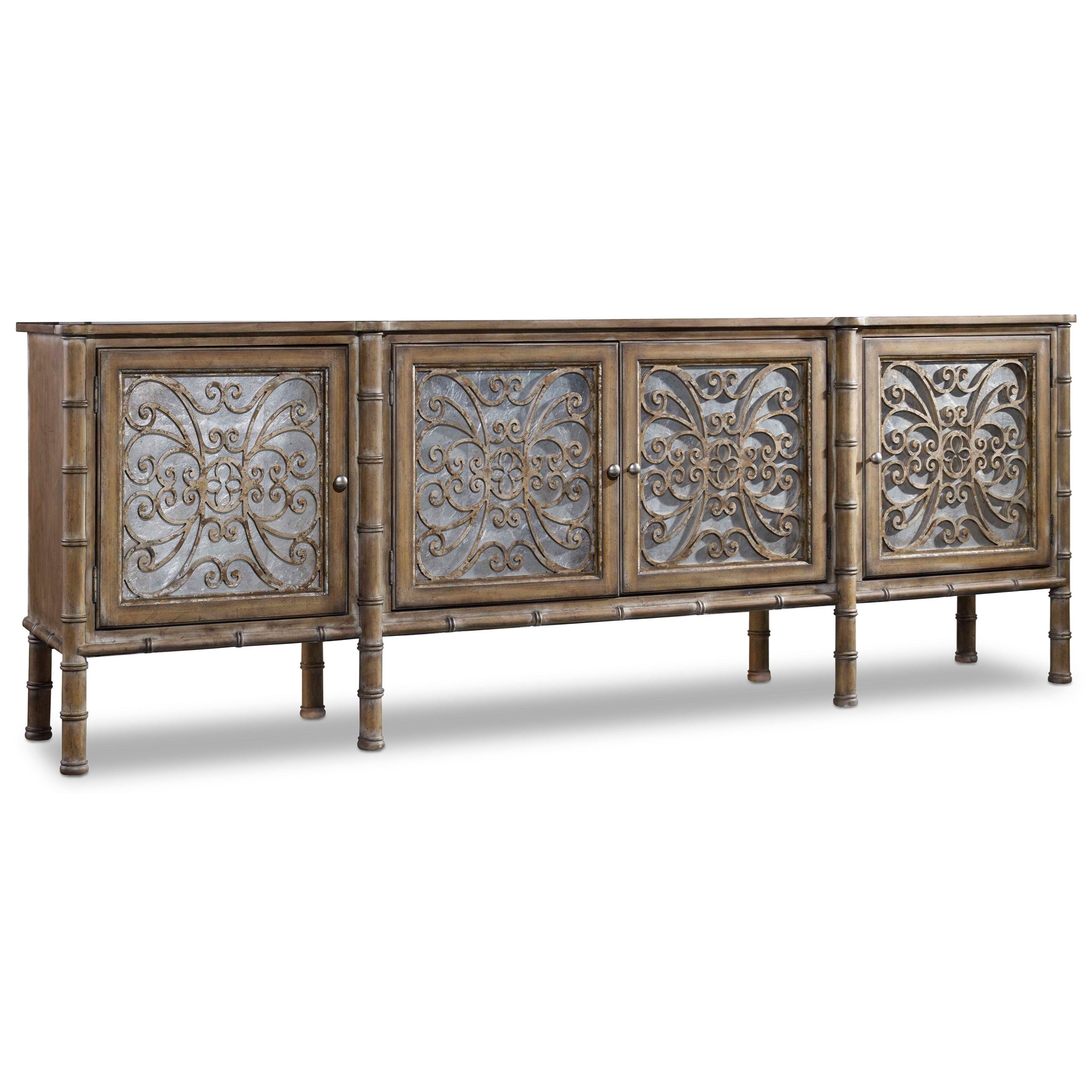 Hamilton Home Living Room Accents Storage Console - Item Number: 5467-85001
