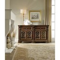 Hooker Furniture Living Room Accents Traditional Chest with Dovetail Drawers