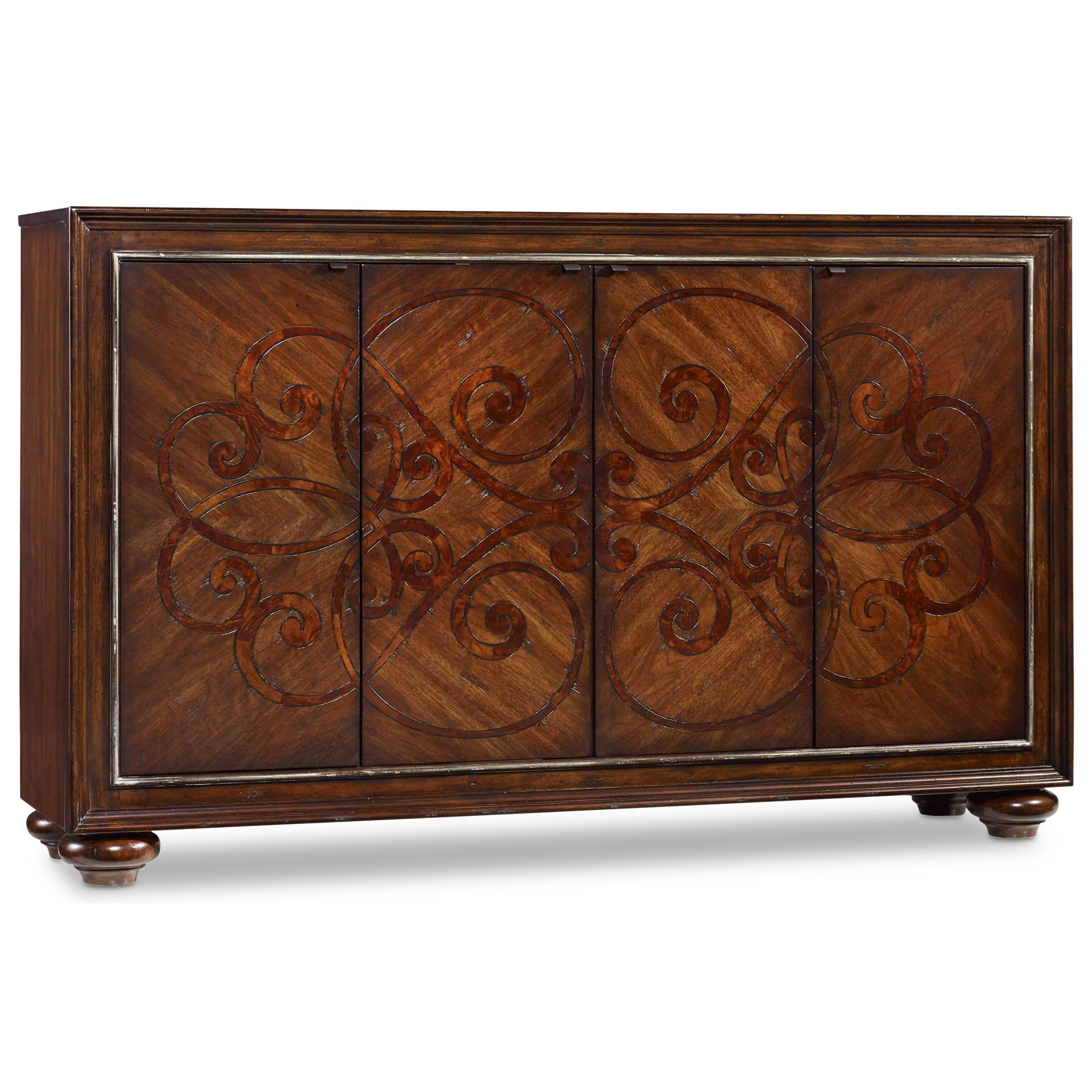 Hamilton Home Living Room Accents Accent Door Chest - Item Number: 5475-85001