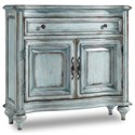 Hooker Furniture Living Room Accents 1-Drawer, 2-Door Chest - Item Number: 5494-85001-LTBE