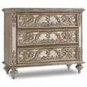 Hooker Furniture Living Room Accents Ornate Mirrored Chest - Item Number: 5509-85001-LTBR