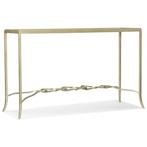 Hooker Furniture Living Room Accents Rectangle Console Table