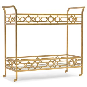 Hooker Furniture Living Room Accents Serving Cart