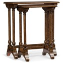 Hooker Furniture Living Room Accents Nesting Tables - Item Number: 5543-50001-MWD