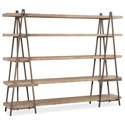 Hooker Furniture Living Room Accents Artist's Scaffold Wall - Item Number: 6290-55100-80
