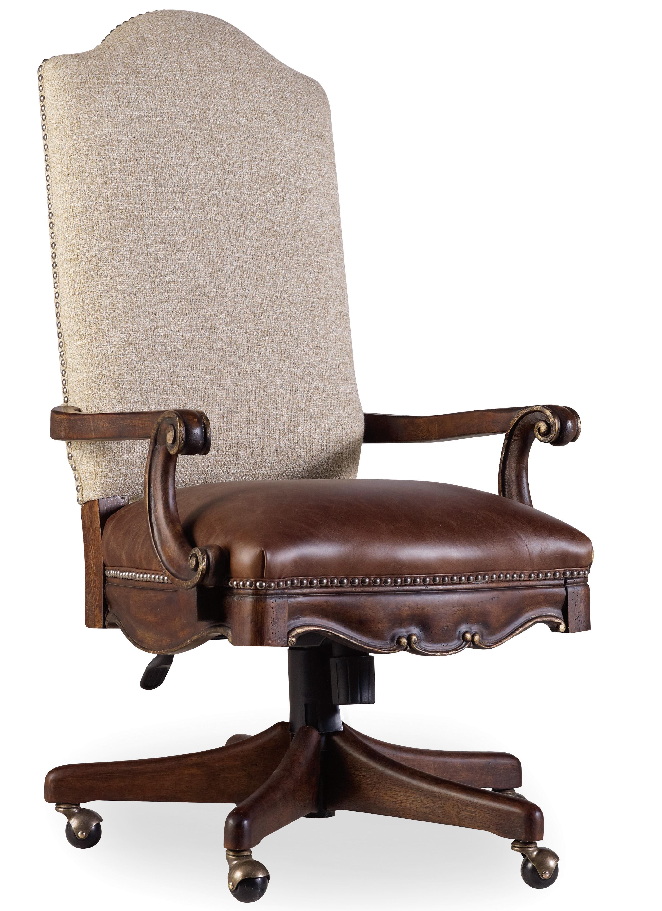 Hooker Furniture Adagio Tilit Swivel Chair - Item Number: 5091-30220