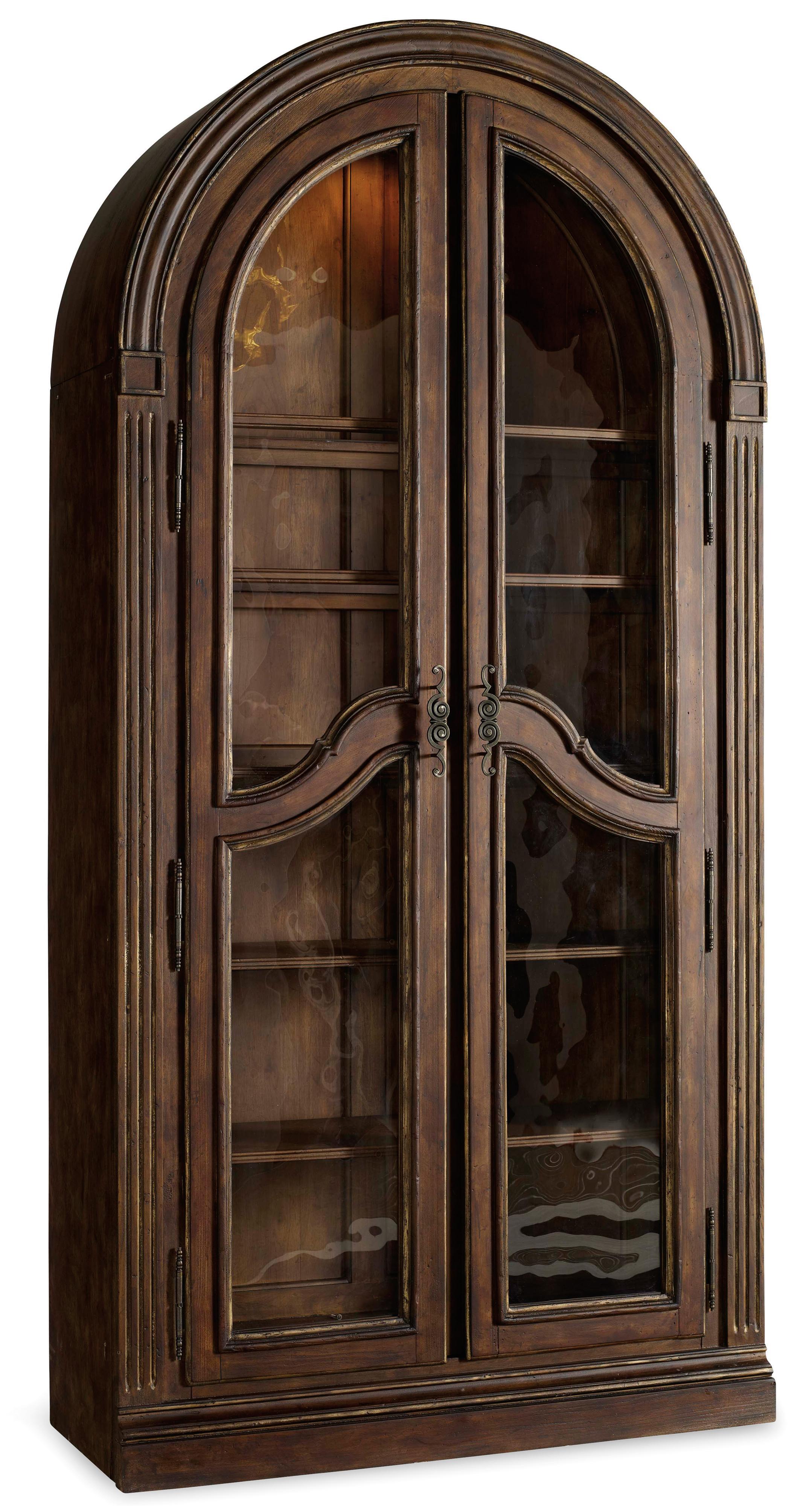 Hooker Furniture Adagio Bunching Curio - Item Number: 5091-50001