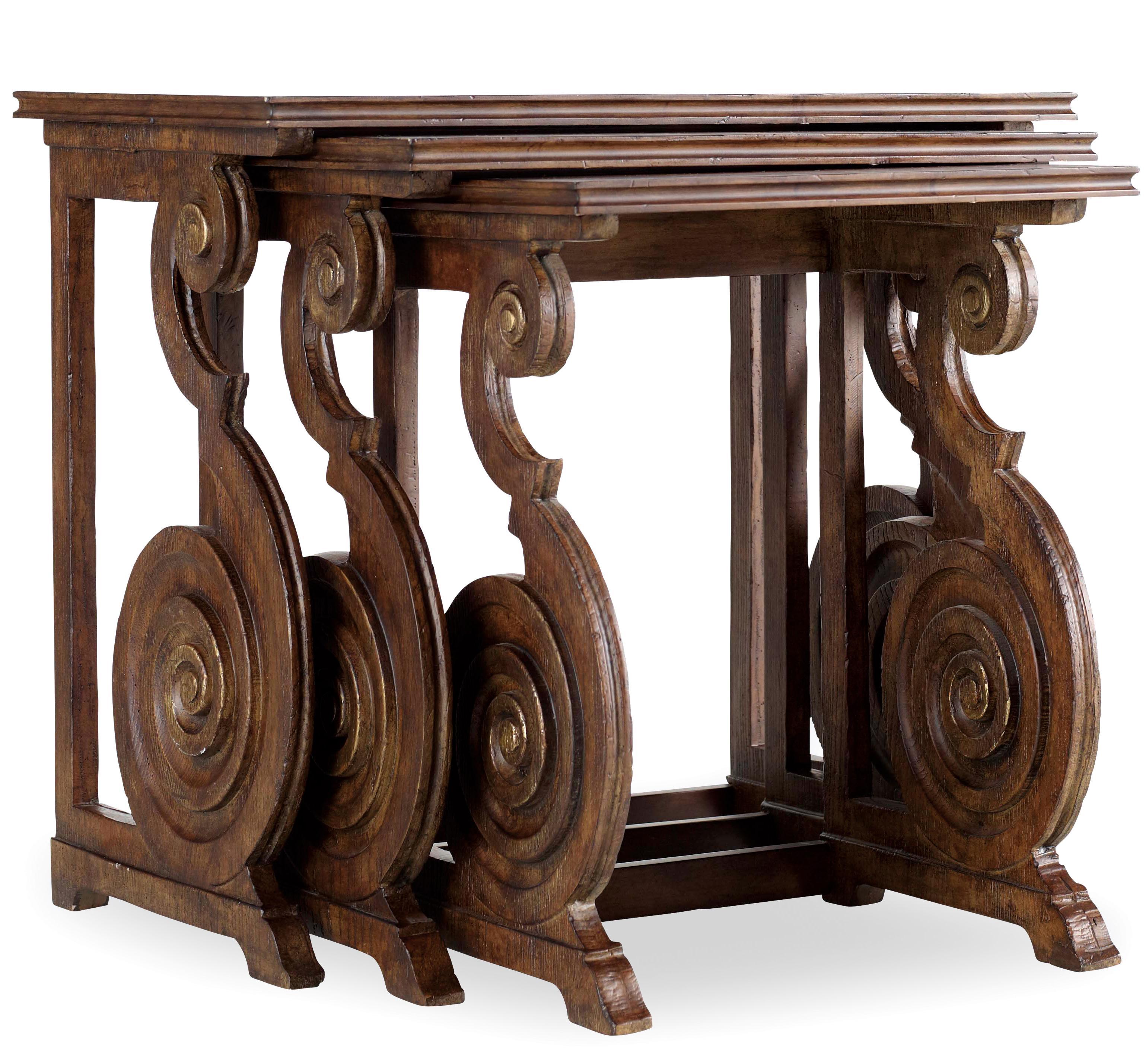 Hooker Furniture Adagio Nest of Tables - Item Number: 5091-50003