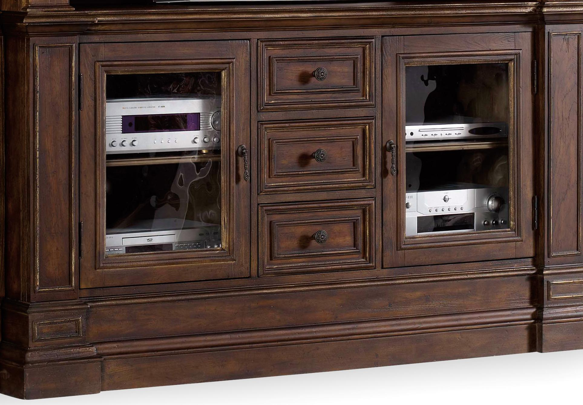 Hooker Furniture Adagio Entertainment Console - Item Number: 5091-70465