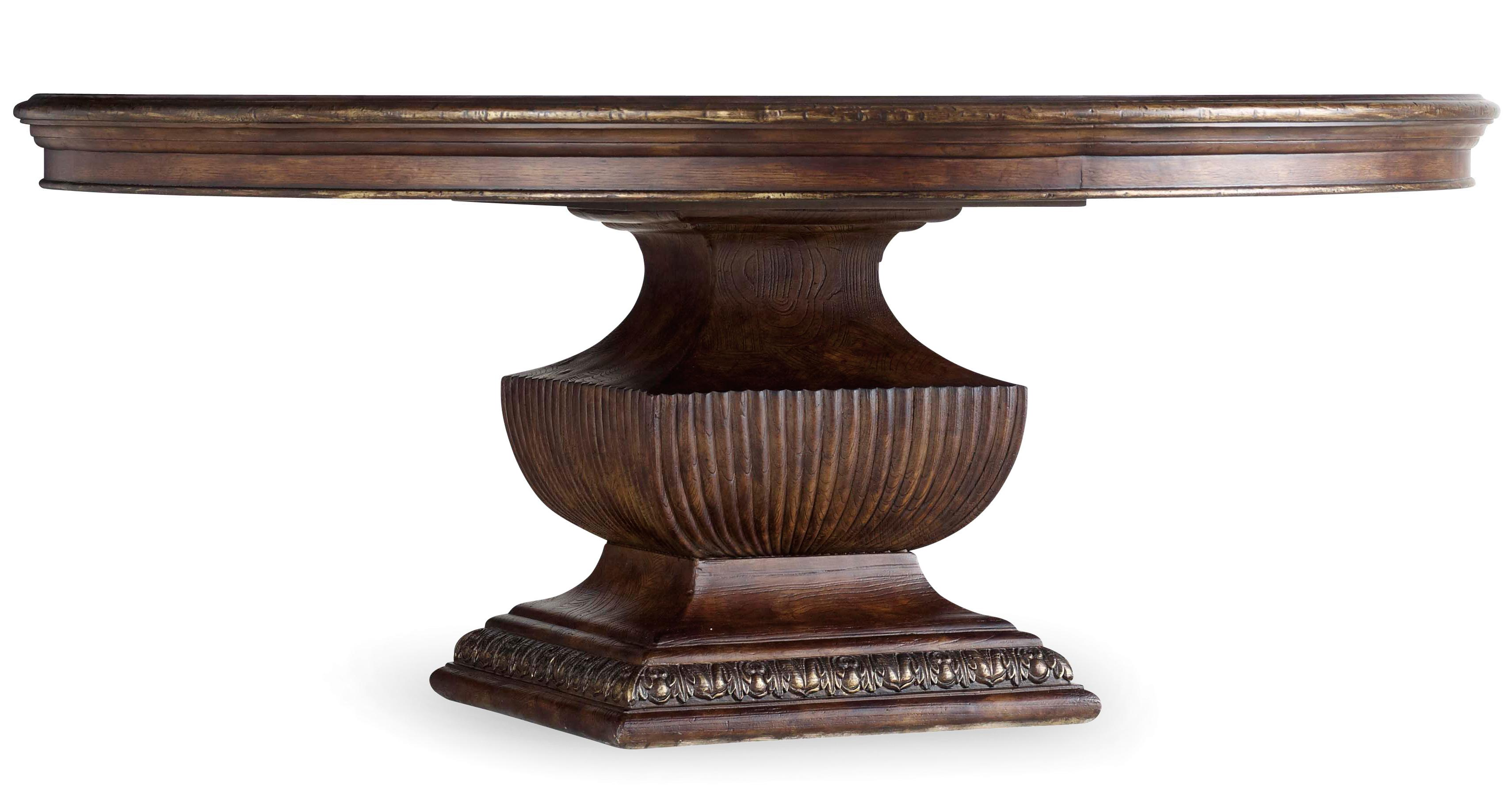 Hooker Furniture Adagio 72 Inch Urn Dining Table - Item Number: 5091-75213