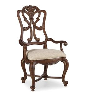 Hooker Furniture Adagio Wood Back Arm Chair