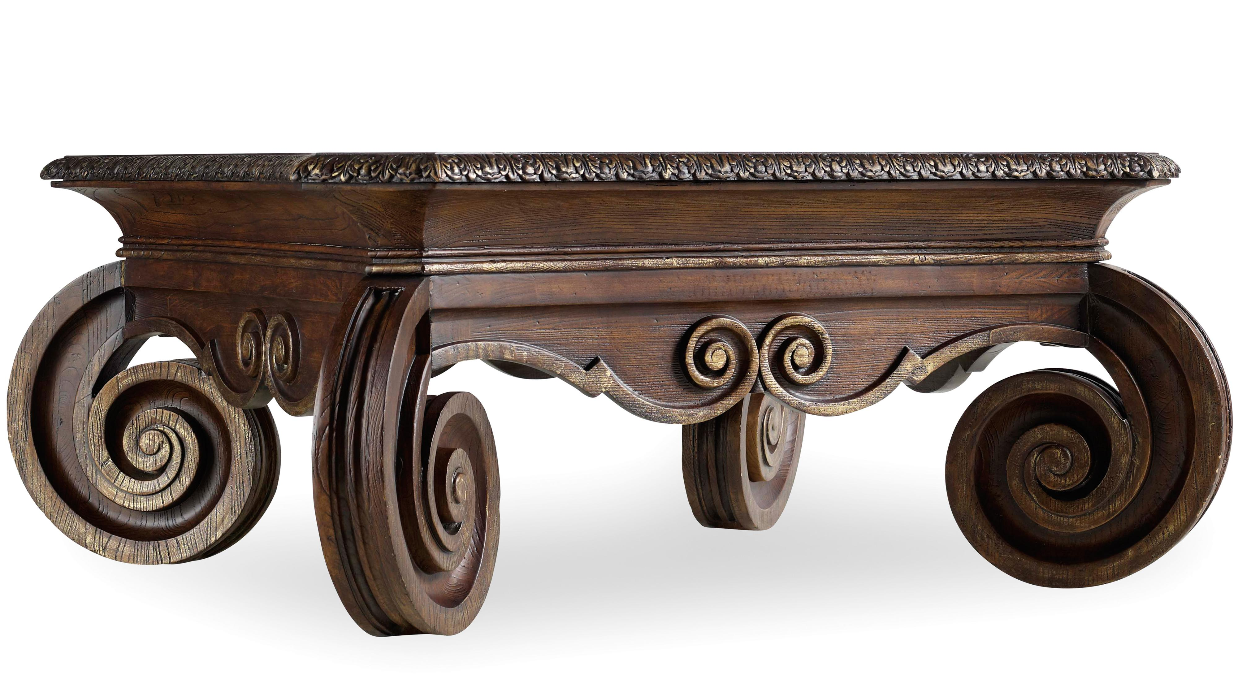 Hooker Furniture Adagio Square Cocktail Table - Item Number: 5091-80112