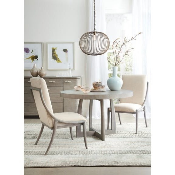 Hooker Furniture Affinity Casual Dining Room Group - Item Number: 6050 GRY Dining Room Group 2