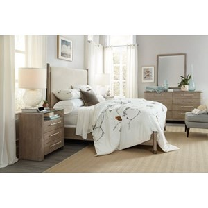 Hooker Furniture Affinity King Bedroom Group