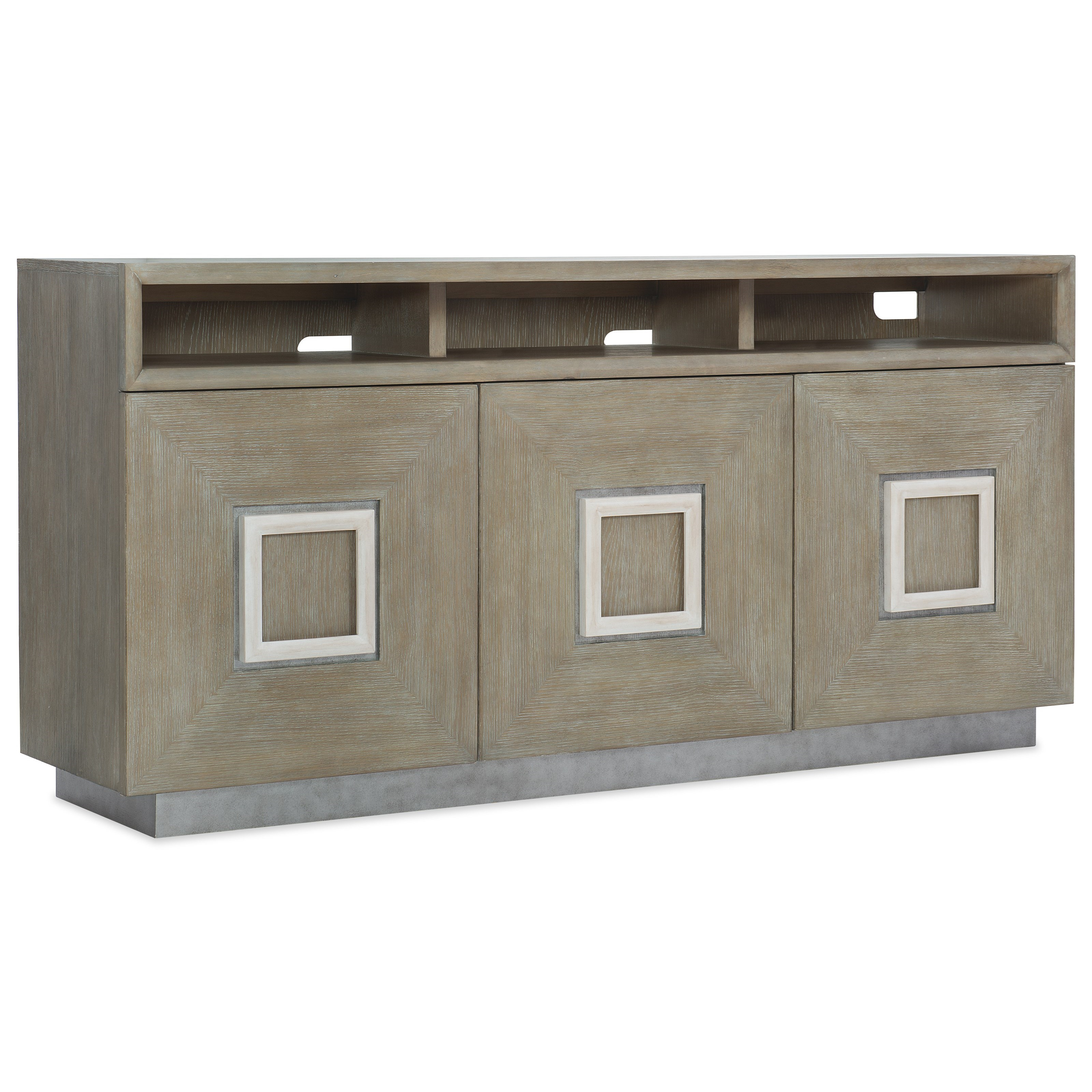 Affinity Entertainment Console by Hooker Furniture at Fashion Furniture