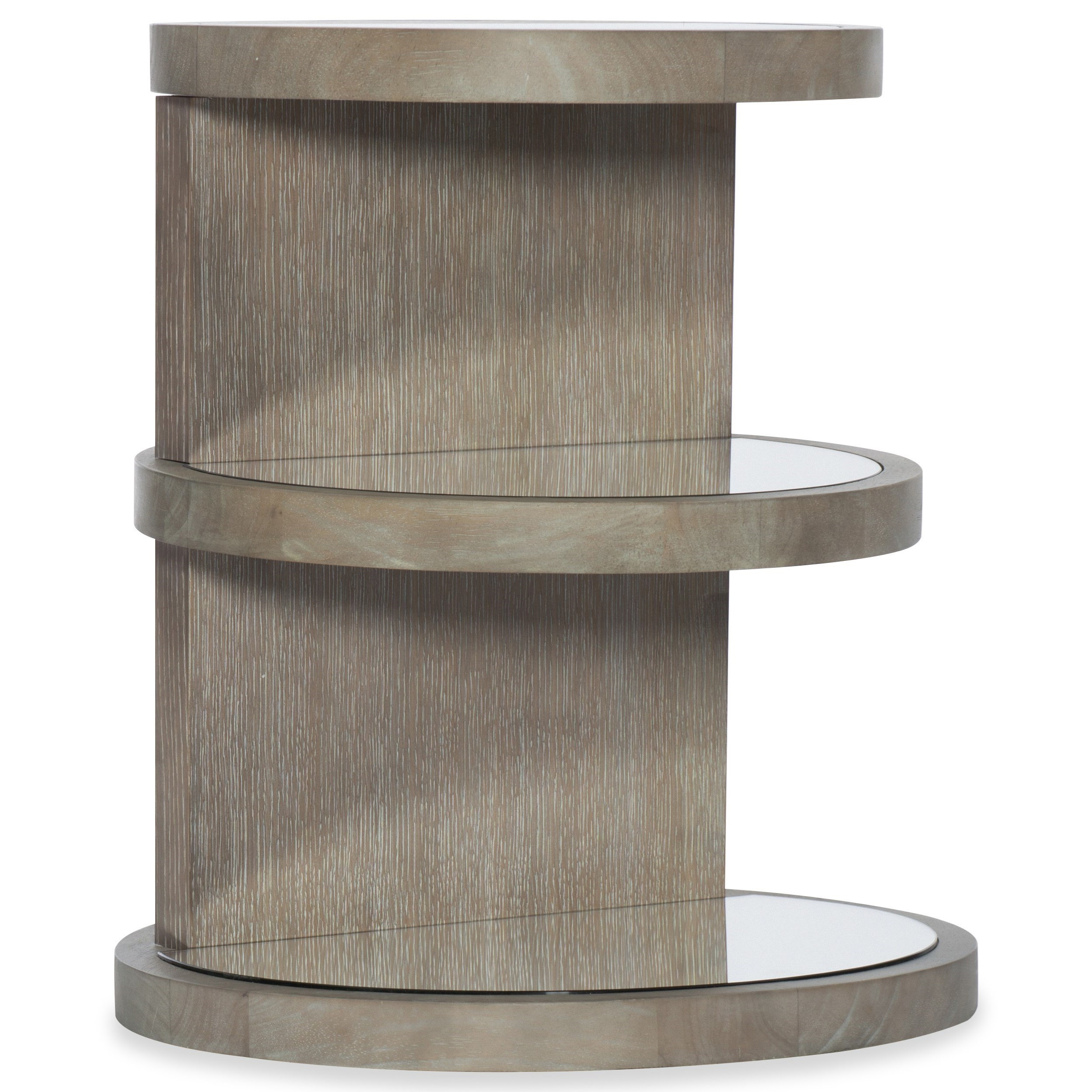 Affinity Round End Table by Hooker Furniture at Fisher Home Furnishings