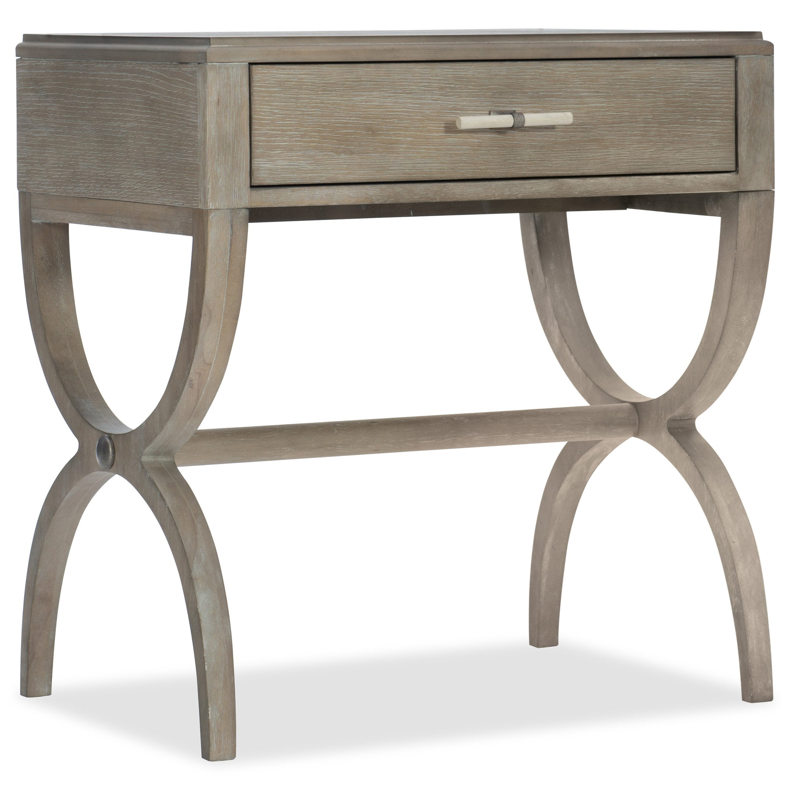 Hooker Furniture Affinity Nightstand - Item Number: 6050-90015-GRY