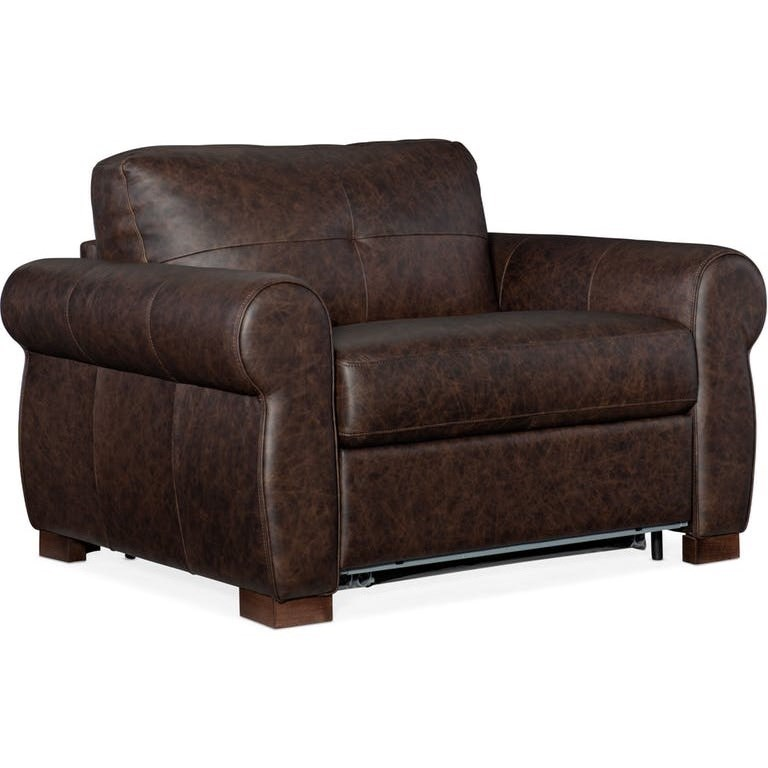 Arm Chair and a Half with Sleeper